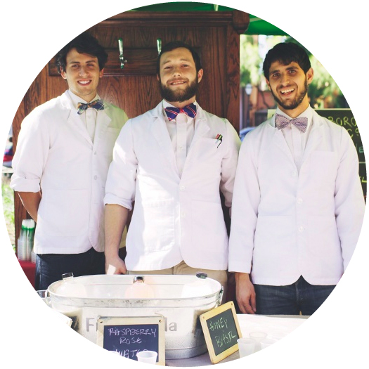 Cannonborough Beverage Company - Mick Matricciano, Brandon Wogamon and Matt Fendley